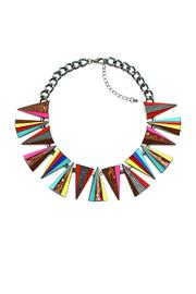 galys fashion house Metal Choker - Front cropped