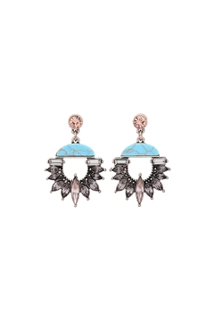 Shoptiques Product: Mikayla Statement Earrings