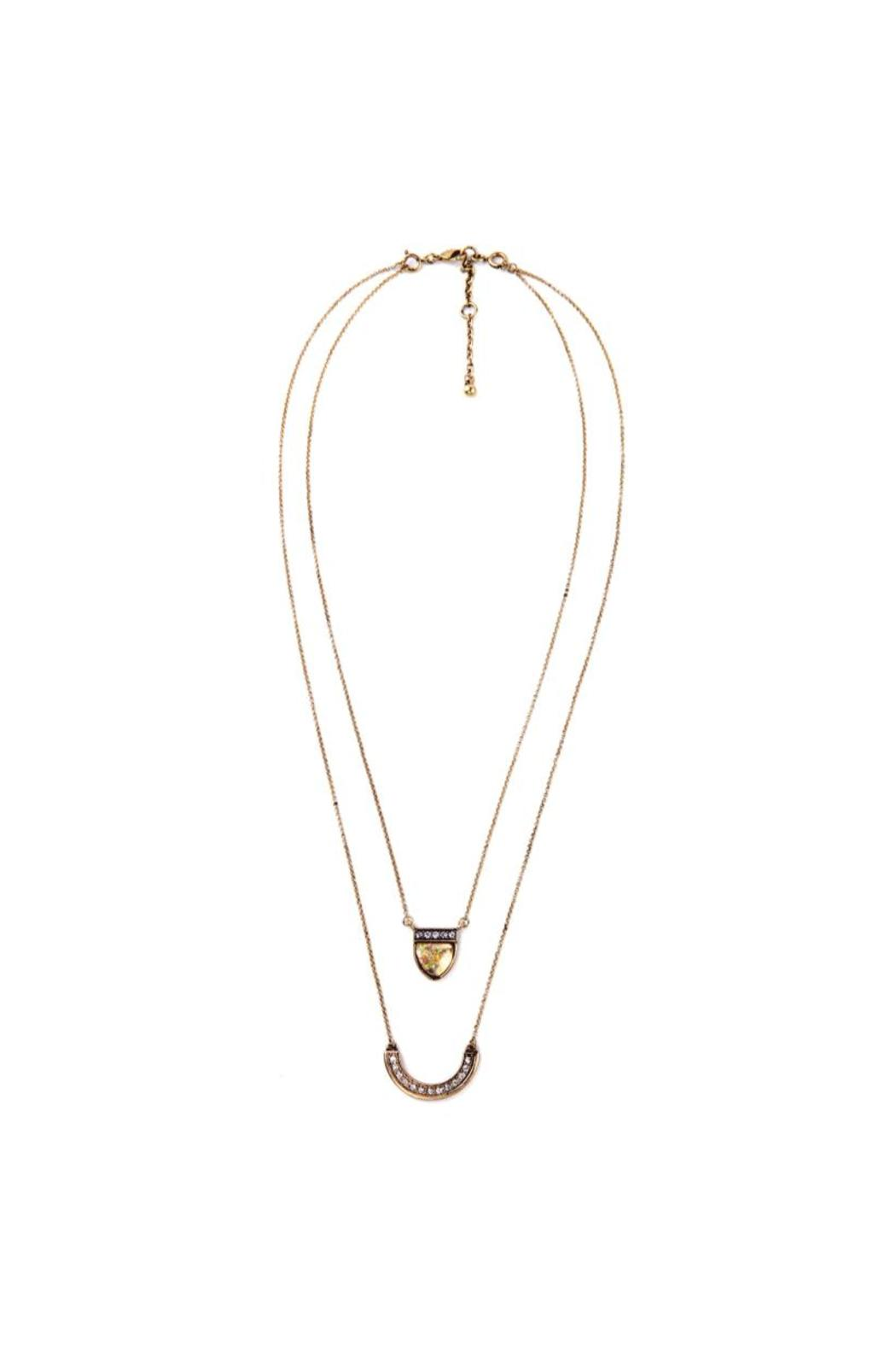 galys fashion house Multilayer Pendant Necklace - Main Image