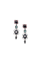 galys fashion house Rowan Statement Earrings - Front full body