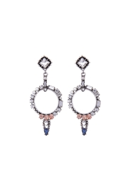 galys fashion house Sabrina Statement Earrings - Product Mini Image