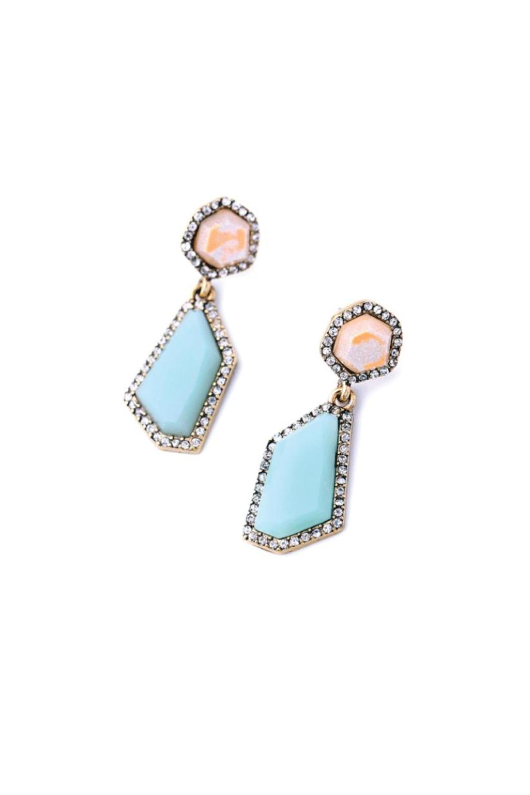 galys fashion house Stunning Dangling Earrings - Front Full Image