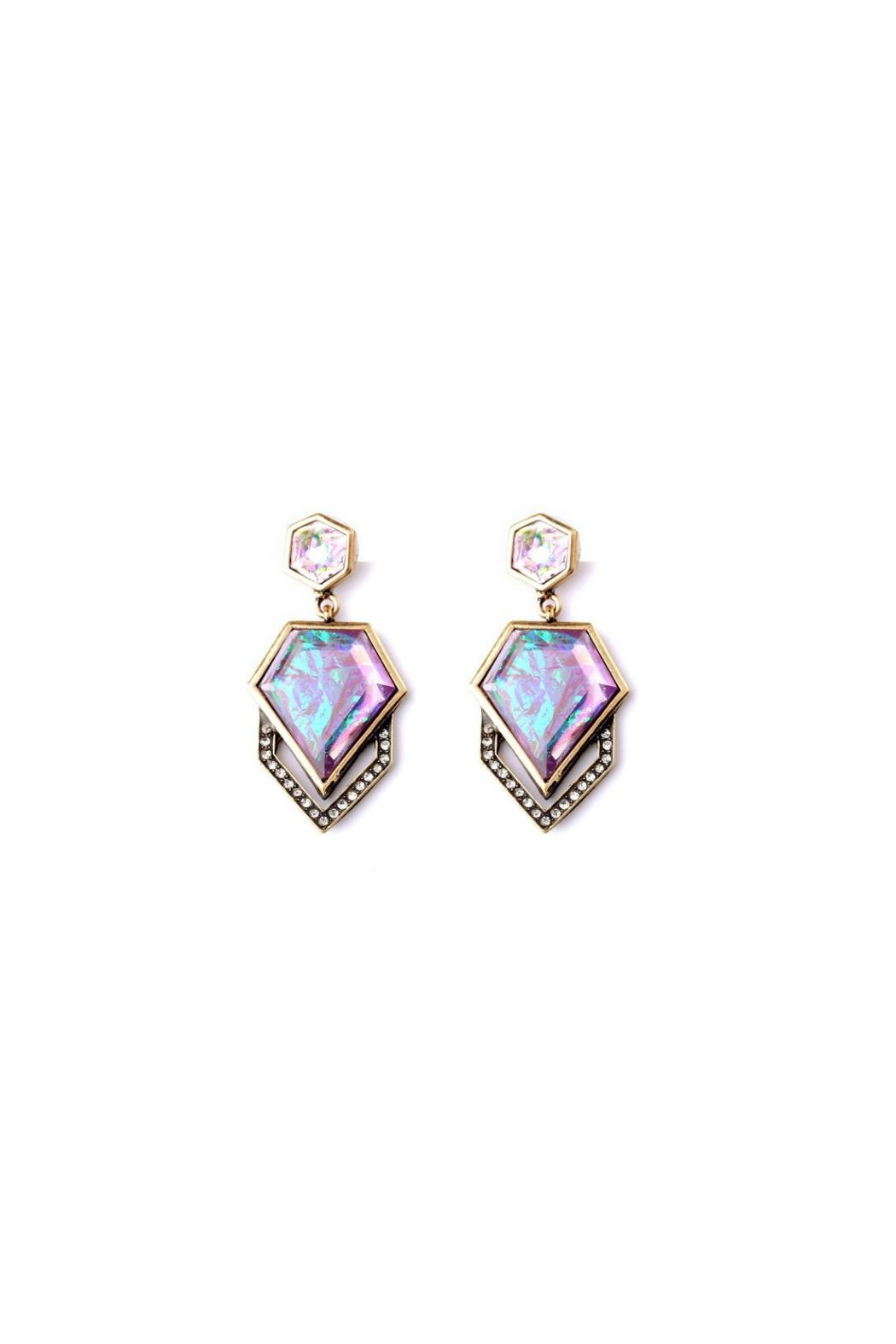 galys fashion house Stunning Drop Earrings - Main Image