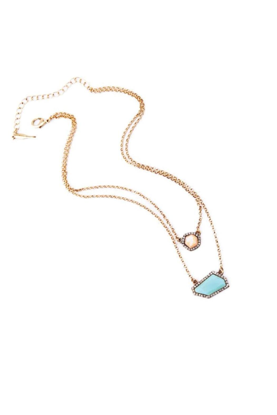 galys fashion house Stunning Layering Necklace - Side Cropped Image