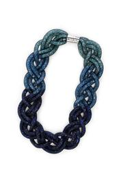 galys fashion house Woven Stardust Necklace - Front cropped