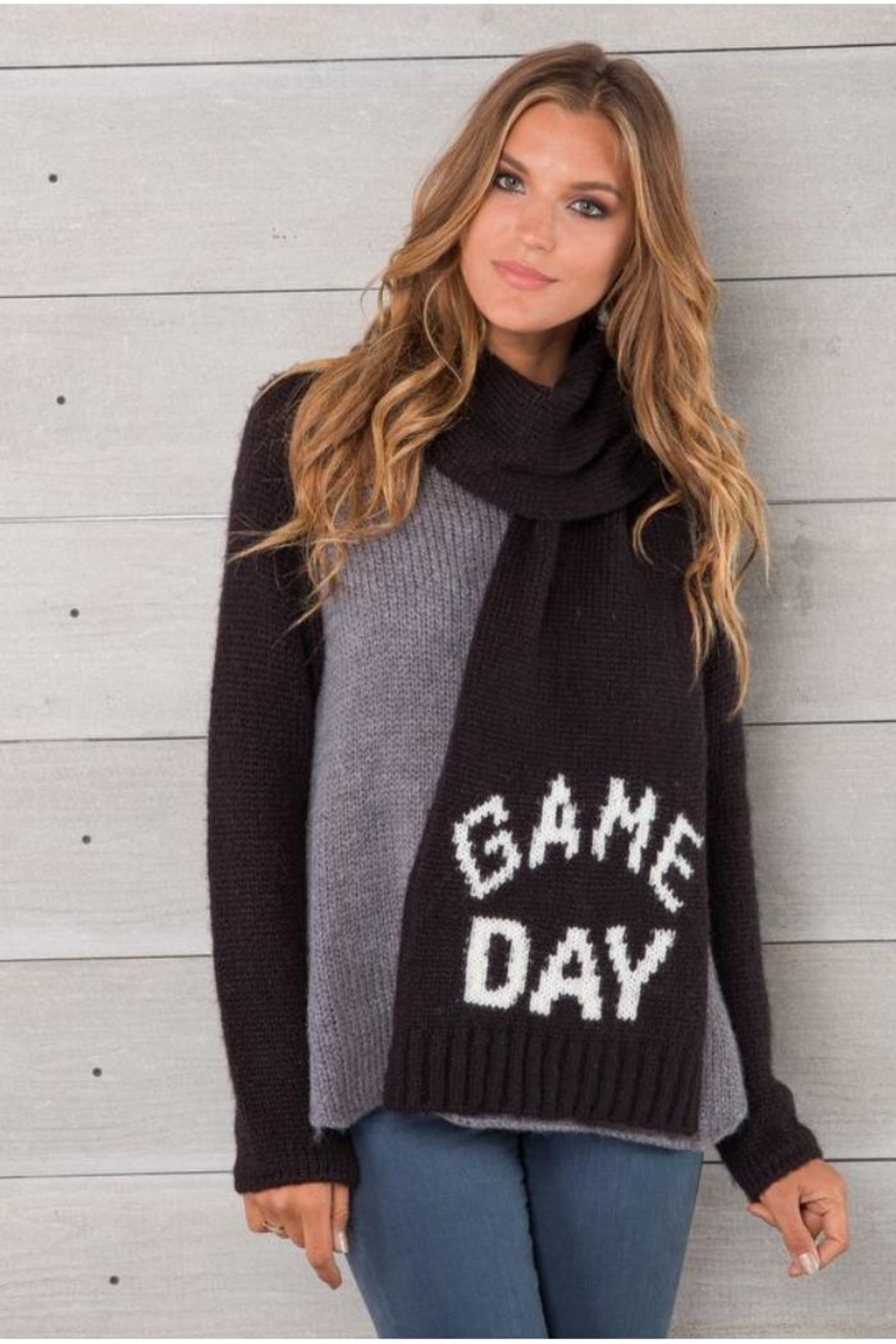 Wooden Ships Game Day Scarf - Main Image