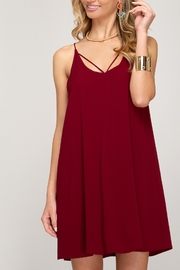She & Sky  Game Time Dress - Front cropped