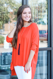 Adrienne Gameday Dolman - Front cropped