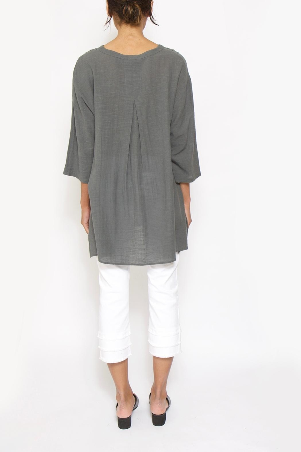 Two Danes Gamine Tunic - Back Cropped Image