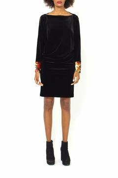 Shoptiques Product: Midi Velvet Dress