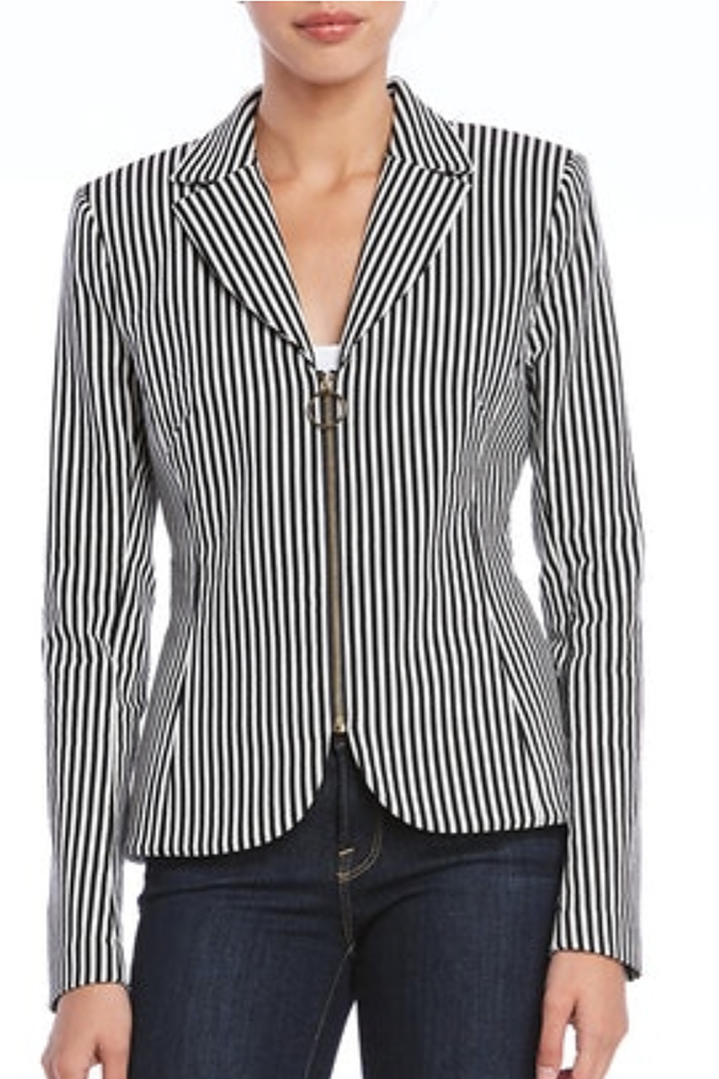 Bailey 44 Gangway Pinstripe Jacket - Side Cropped Image
