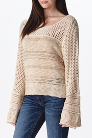 Ganji LA Neutral Beige Sweater - Side cropped