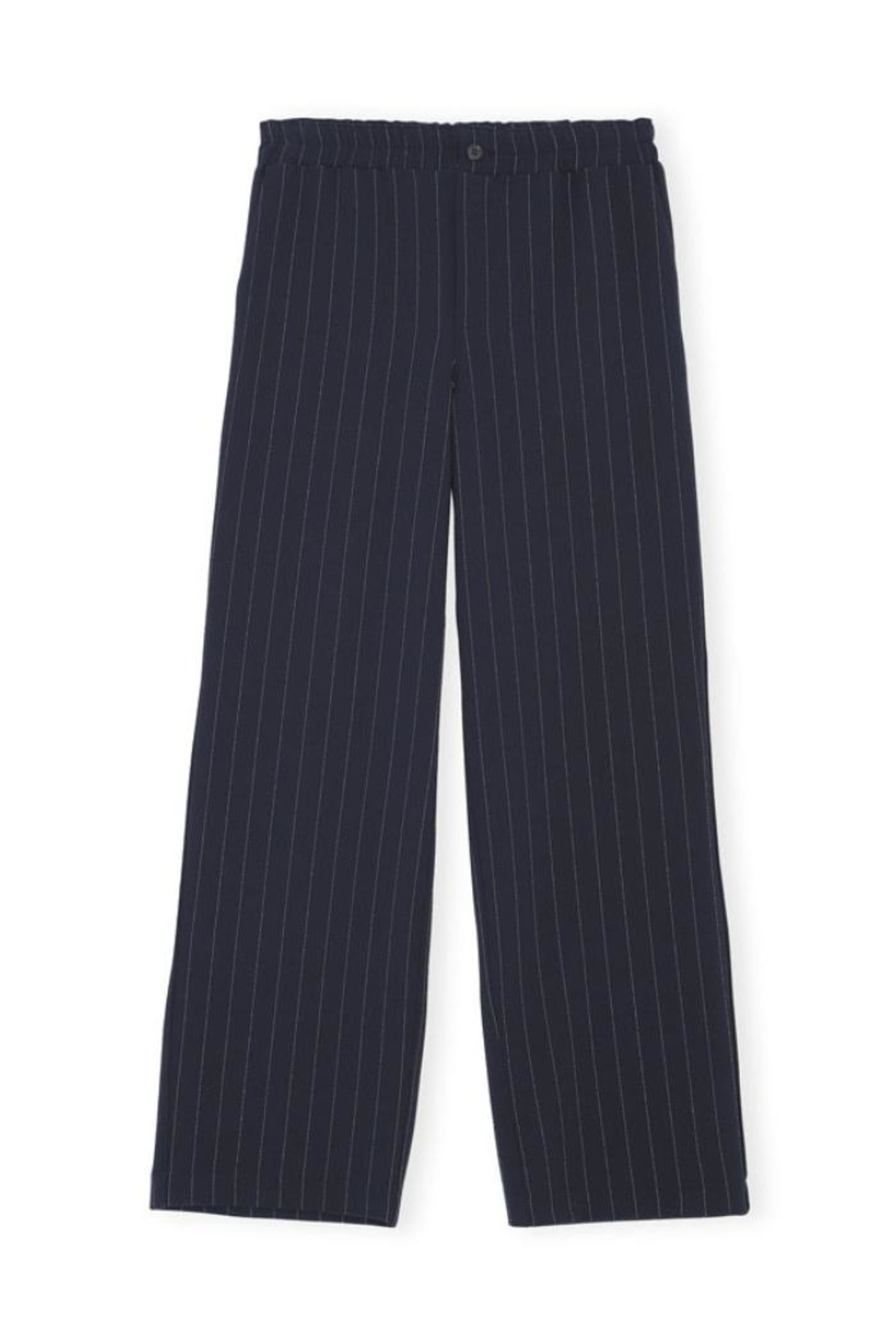 Ganni Heavy Crepe Wide Pants - Front Cropped Image