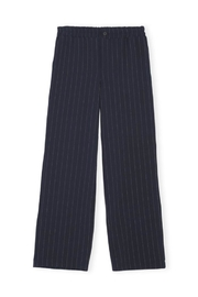 Ganni Heavy Crepe Wide Pants - Front cropped