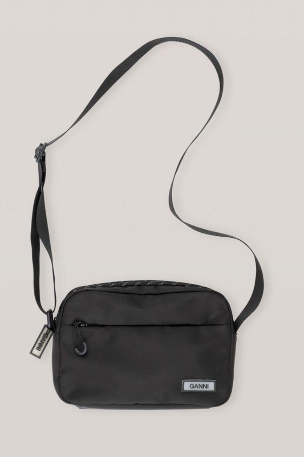Ganni Tech Fabric Bag - Front Cropped Image
