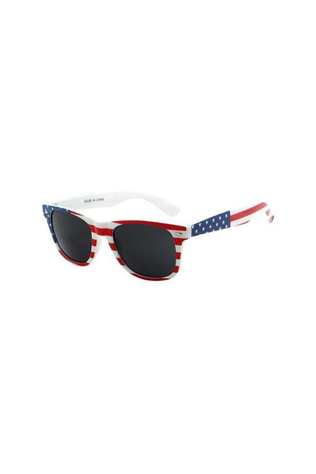 Ganz American Flag Sunglasses - Main Image