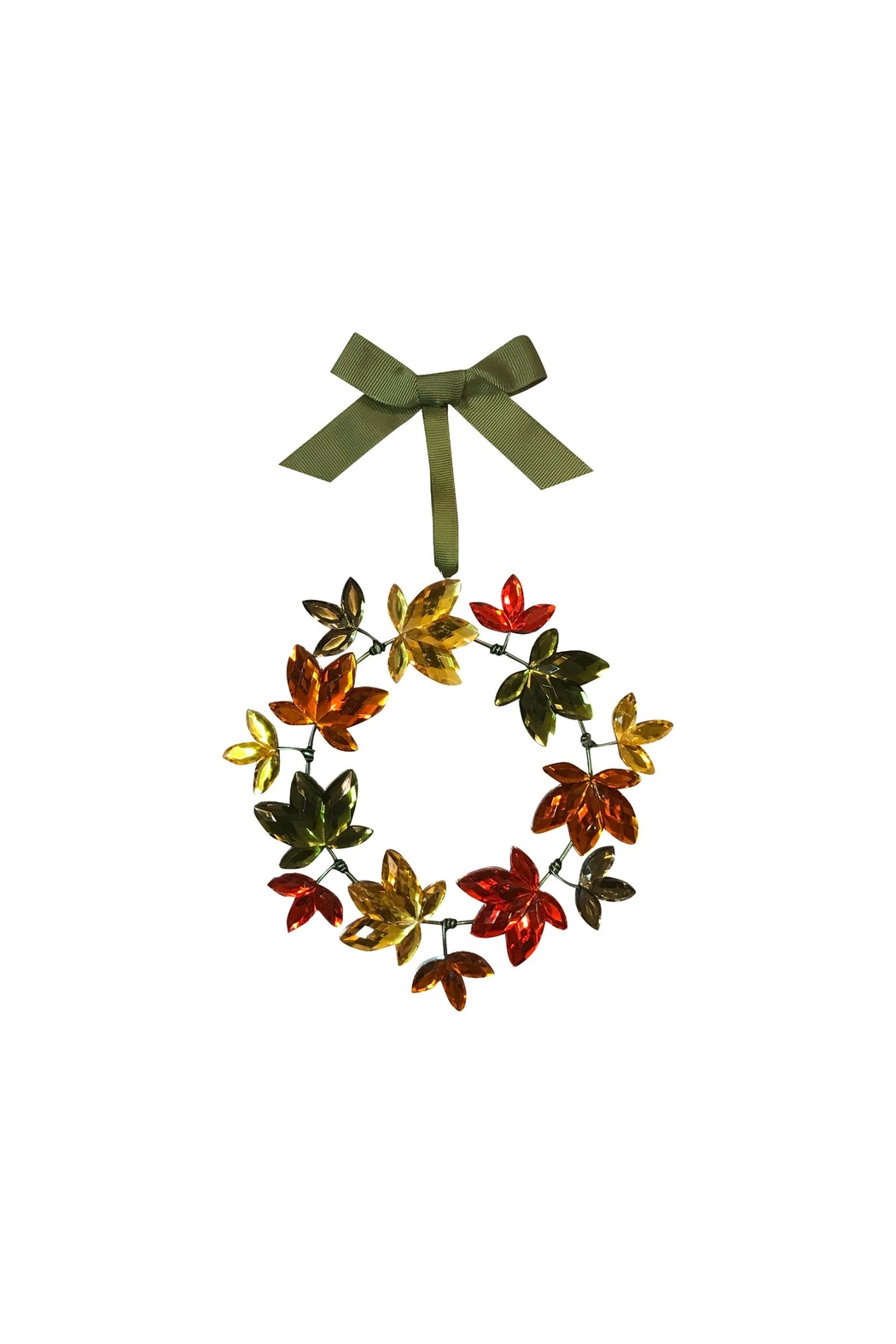 Ganz Autumn Harvest Wreath - Front Cropped Image