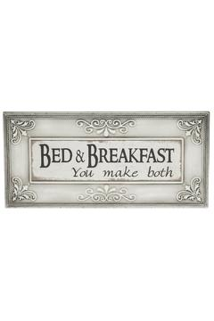 Shoptiques Product: Bed & Breakfast Wall Decor