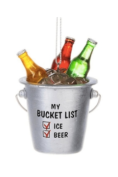 Ganz Beer Bucket Ornament - Alternate List Image