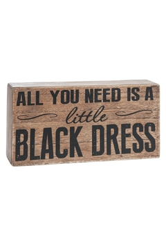 Shoptiques Product: Black Dress Box