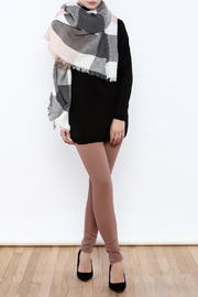 Ganz Block Plaid Scarf - Product Mini Image