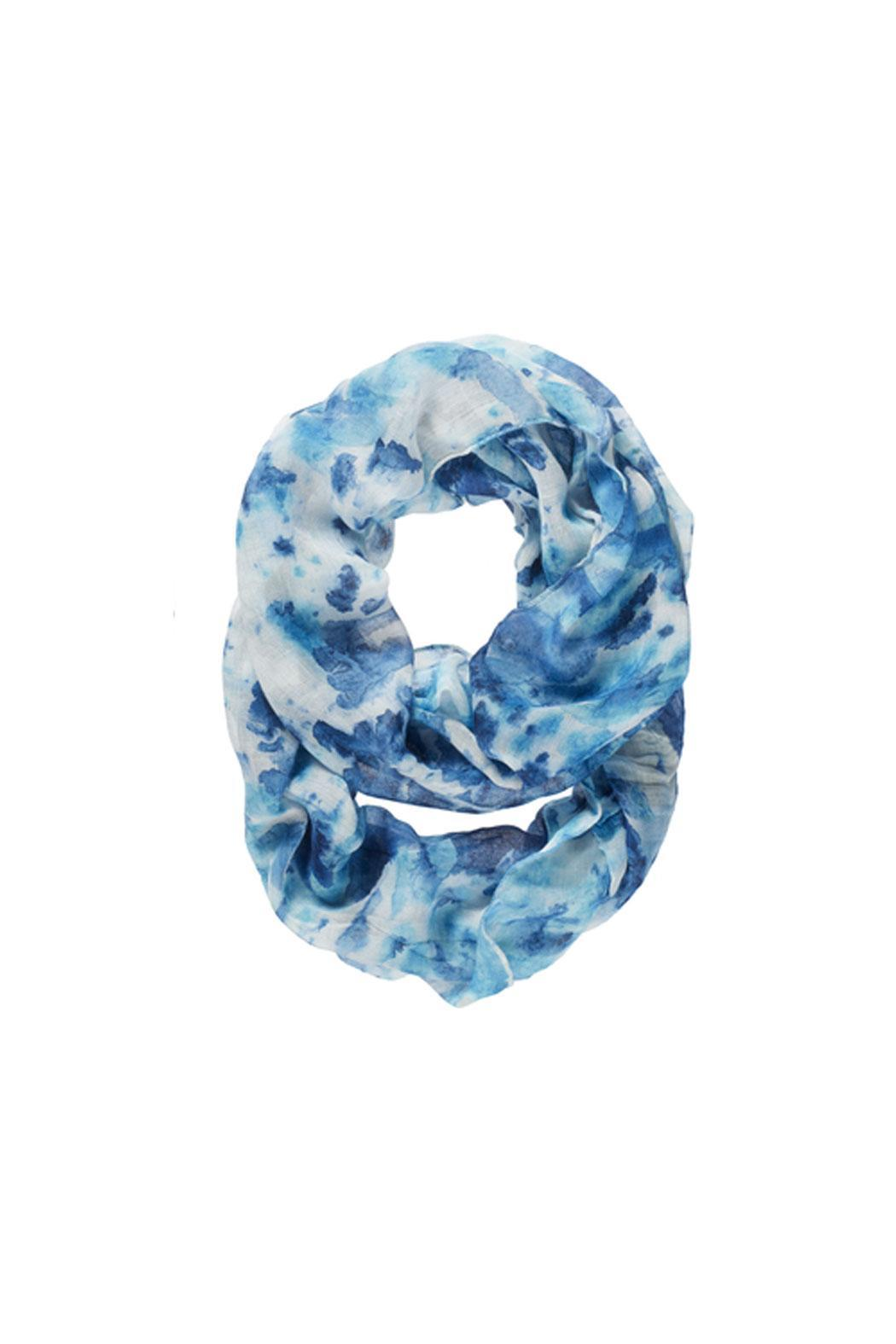 Ganz Blues Infinity Scarf - Main Image