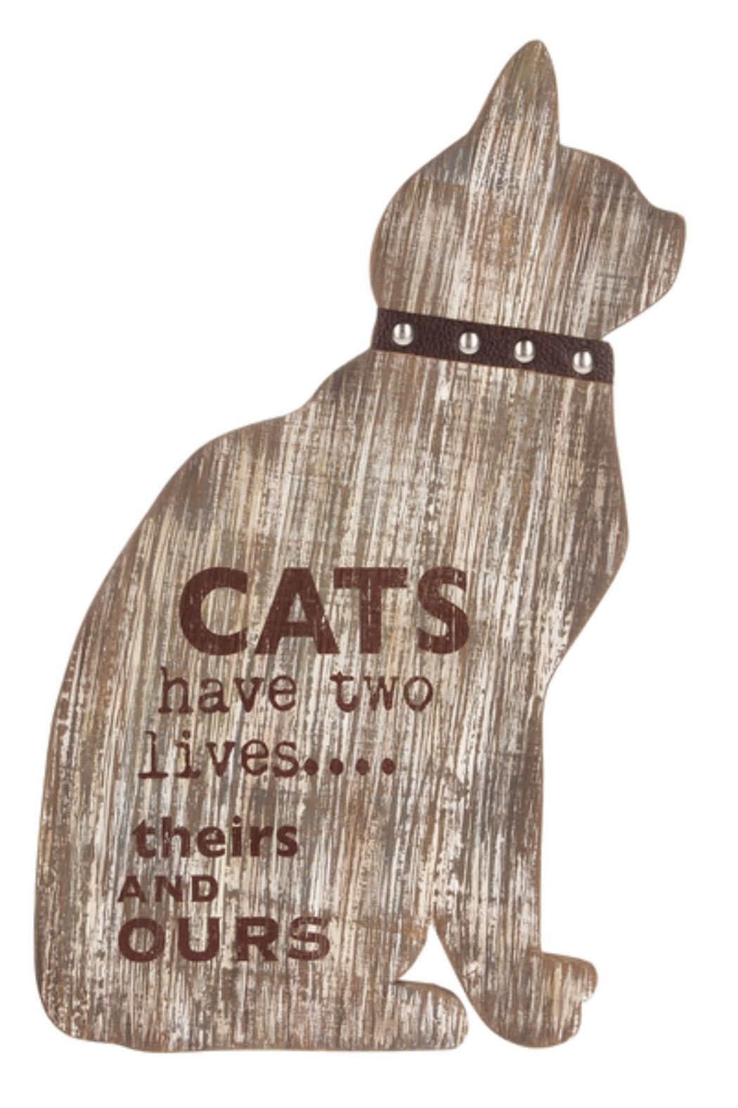 Ganz Cat Wall Plaque - Front Cropped Image