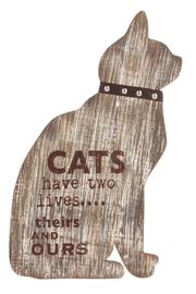 Ganz Cat Wall Plaque - Product Mini Image