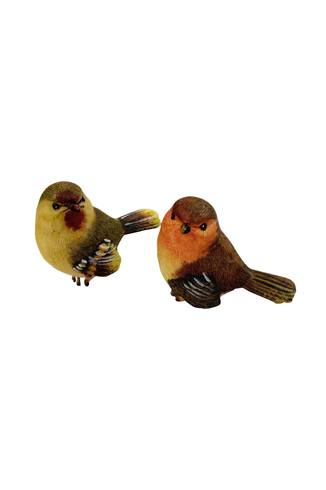 Ganz chickadee bird figurines from woodstock by house and garden boutique shoptiques - Chickadee figurine ...