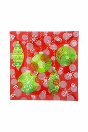 Ganz Christmas Glass Plate - Product Mini Image