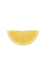 Ganz Citrus Clutch Yellow - Front cropped