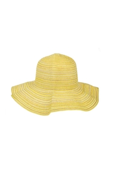 Ganz Citrus Sun Hat-Yellow - Alternate List Image