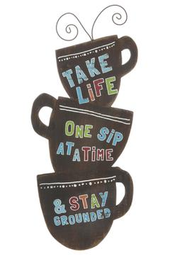 Shoptiques Product: Coffee Cups Sign
