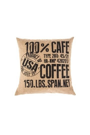 Ganz Coffee Pillow - Product Mini Image