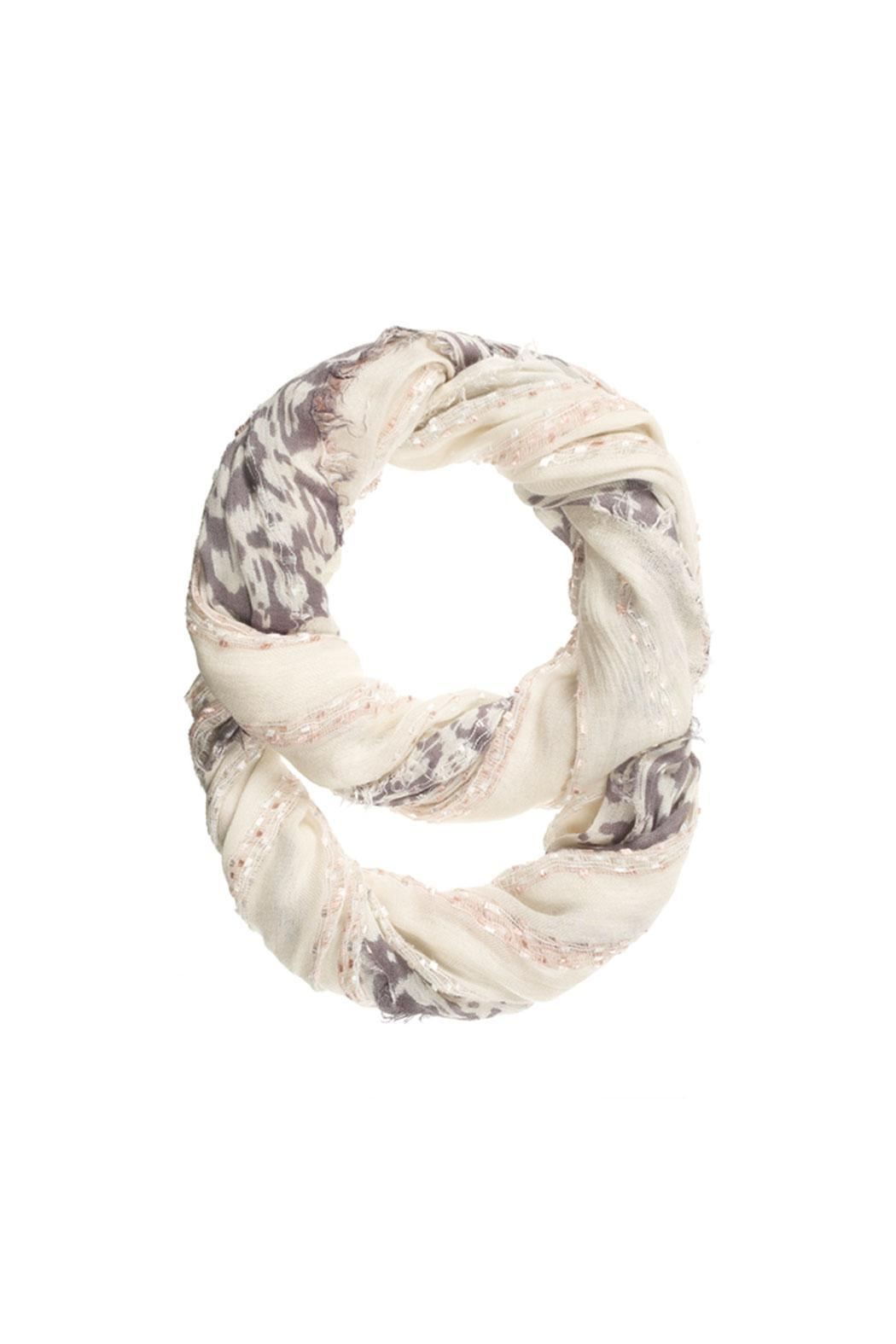 Ganz Confetti Infinity Scarf - Front Cropped Image