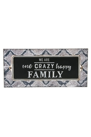 Ganz Crazy Family Plaque - Product Mini Image
