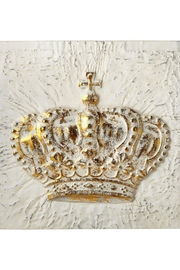 Ganz Crown Wall Decor - Front cropped