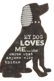 Ganz Dog Wall Plaque - Product Mini Image