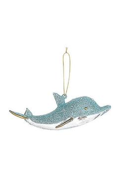 Ganz Dolphin Ornament-Gold - Product List Image