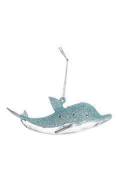Ganz Dolphin Ornament-Silver - Alternate List Image