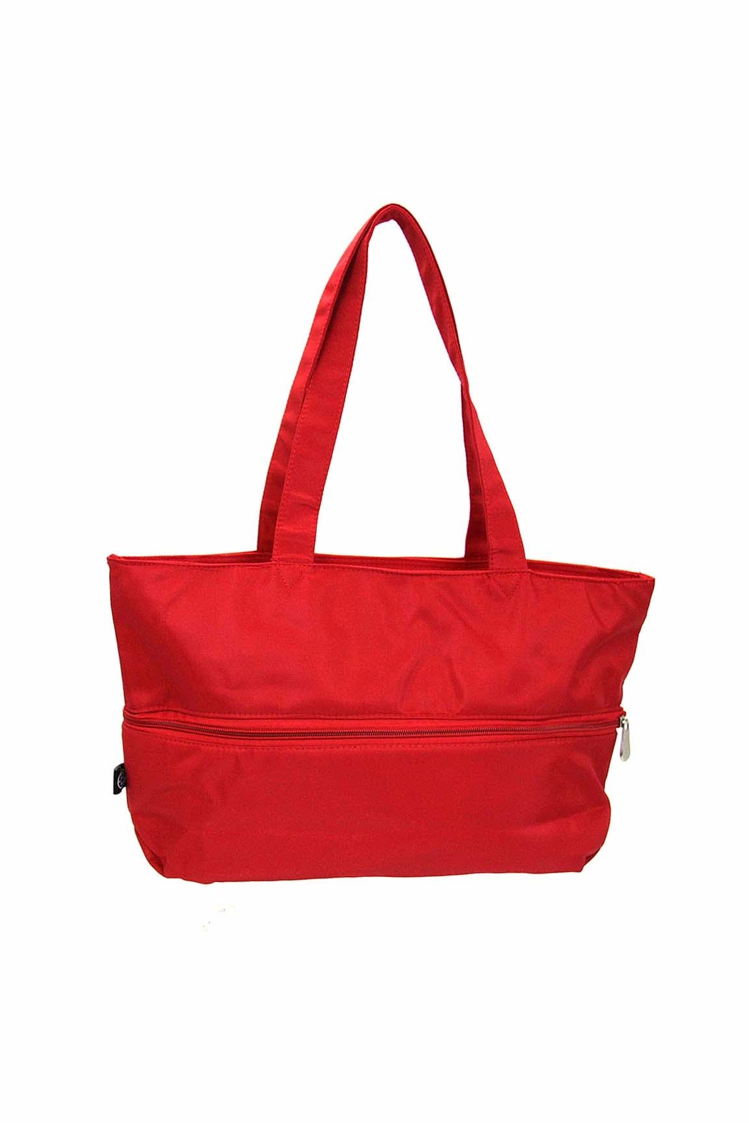 Ganz Expandable Tote Mandarin Red - Front Cropped Image