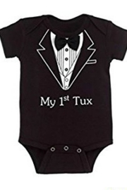Ganz First Tux Onsie - Front cropped