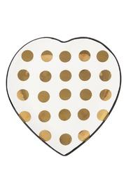 Ganz Gold Heart Dish - Front cropped