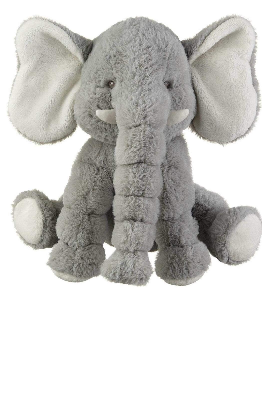 Ganz Gray Jellybean Elephant - Front Cropped Image