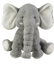 Ganz Gray Jellybean Elephant - Front cropped