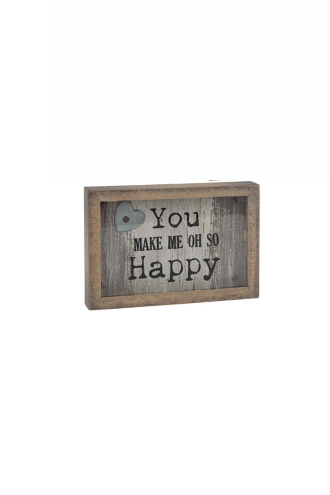 Ganz Happy Plaque - Main Image