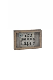 Ganz Happy Plaque - Front cropped