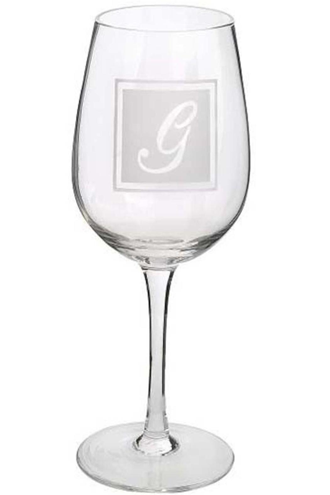 Ganz Initial Wine-Glass G - Front Cropped Image