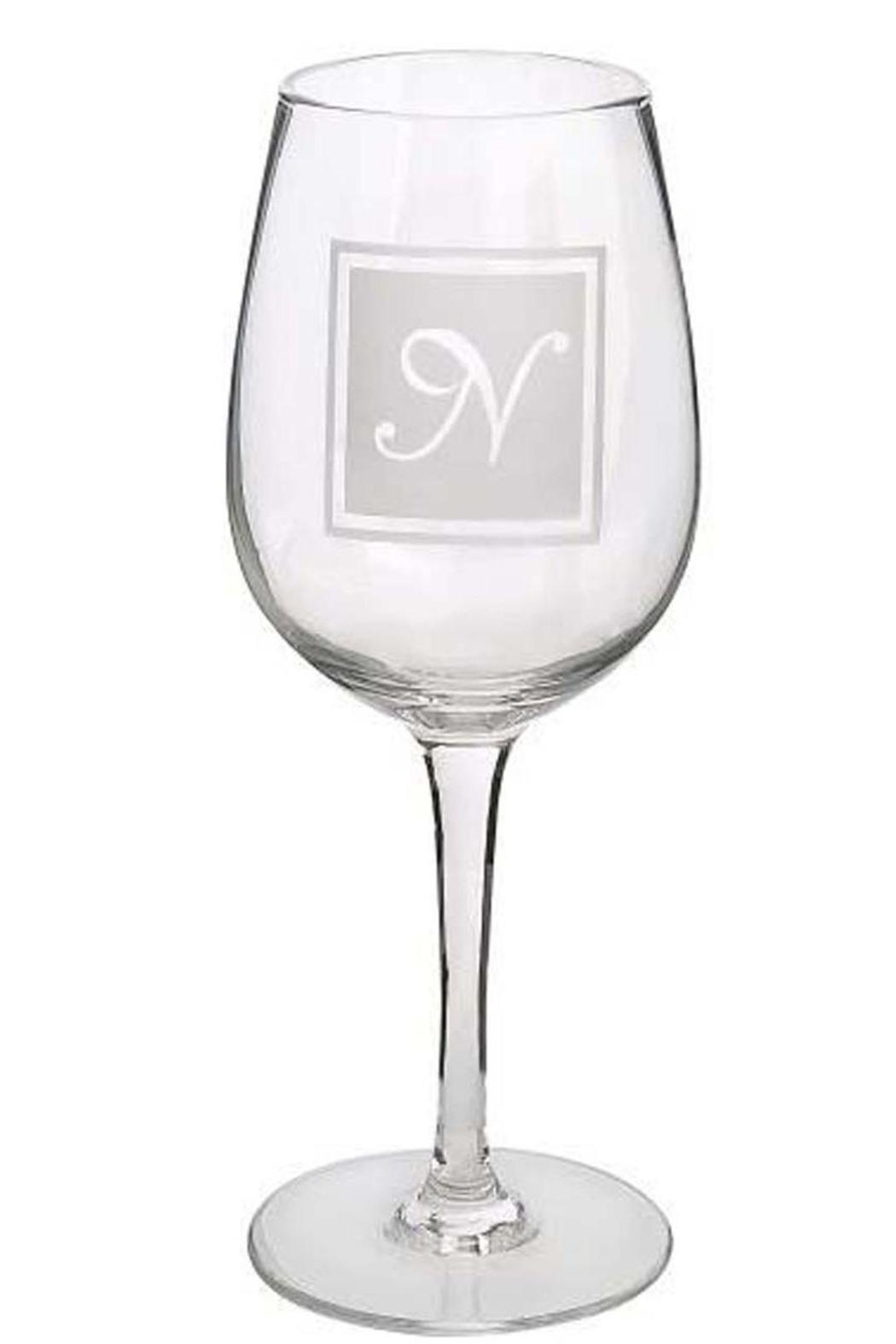Ganz Initial Wine-Glass N - Main Image