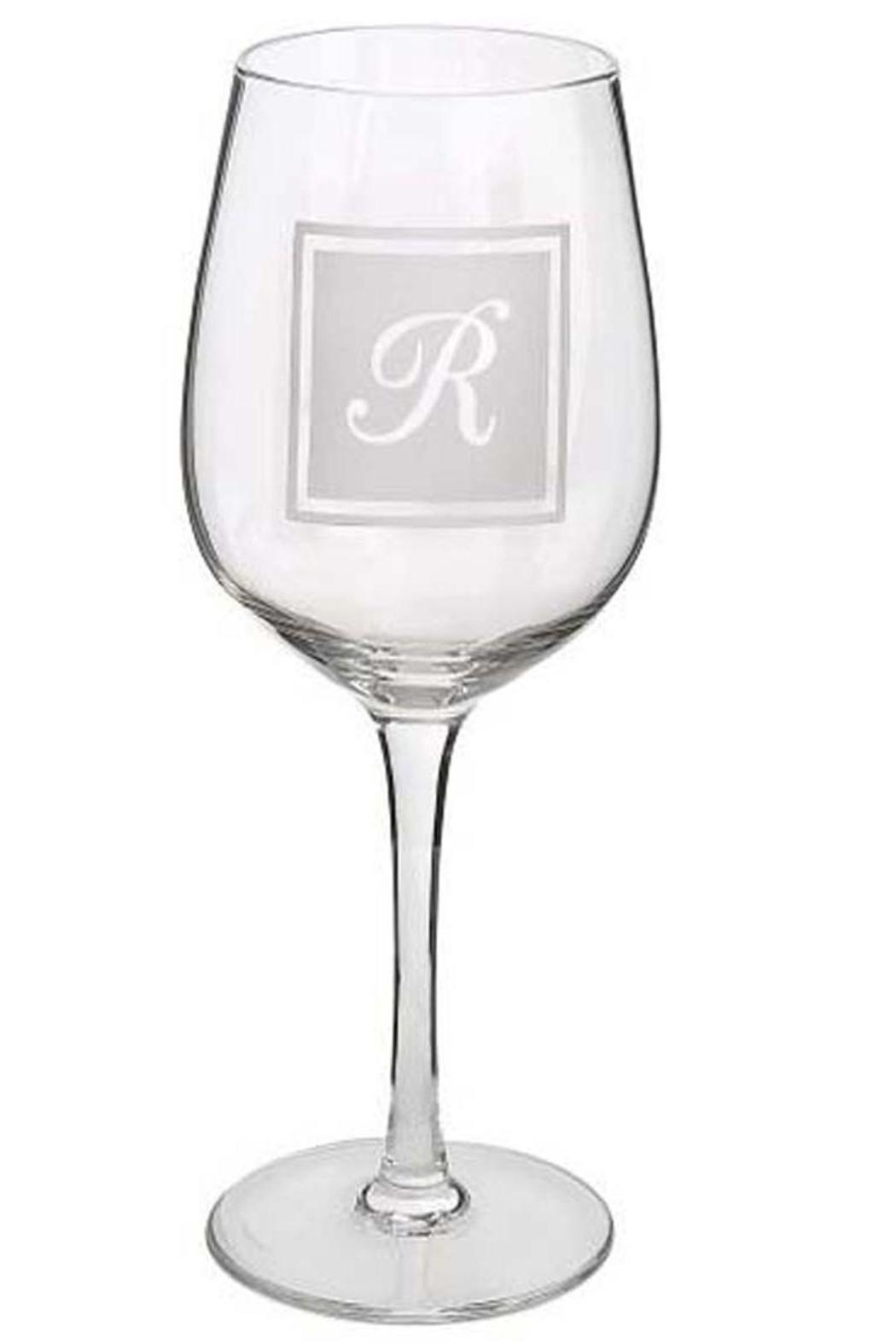 Ganz Initial Wine-Glass R - Main Image